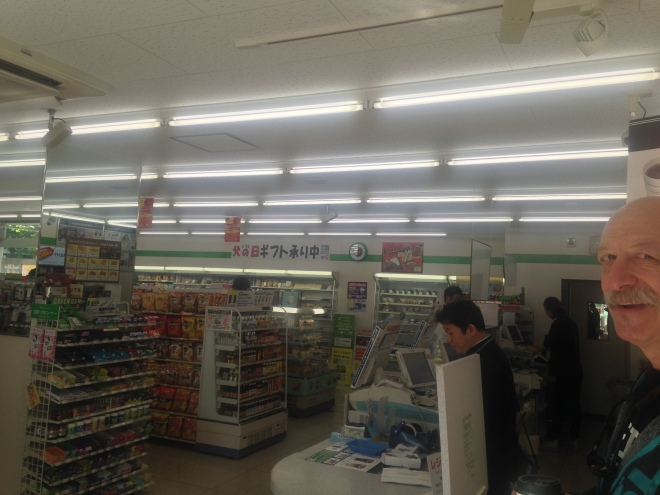 Family Mart across the street from the Sunline