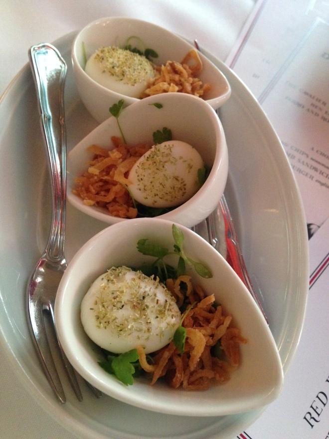 Quail Egg Mayonnaise
