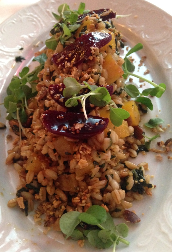 Farro and Roasted Beets