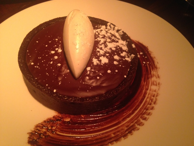 Valrhona Chocolate Tart