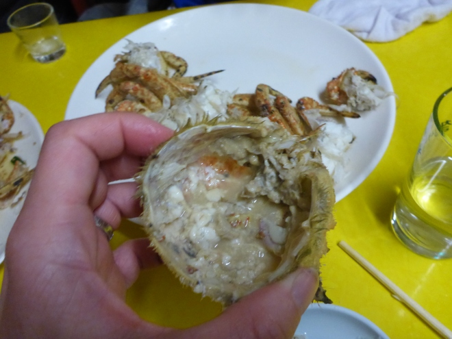 Jagalchi crab head