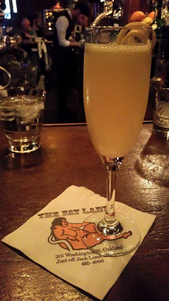 the fat lady french 75
