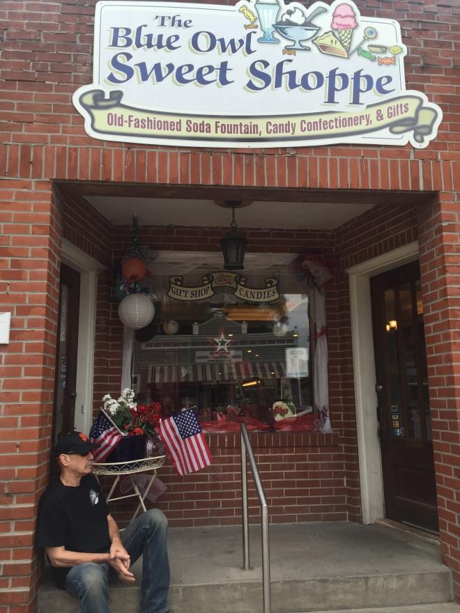 Sweet shop exterior