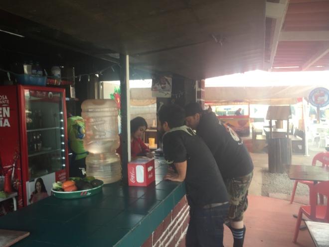 TJ taco ordering