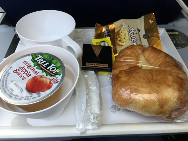 DF flight meal